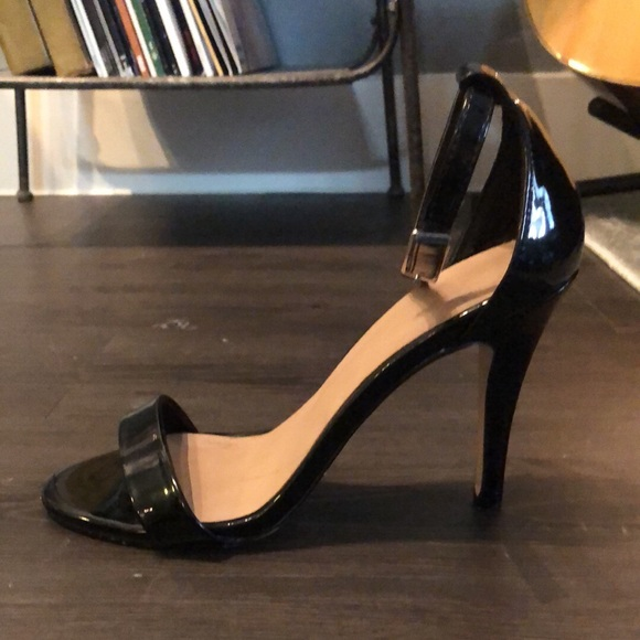 Black Ankle Strap Heels   Poshmark